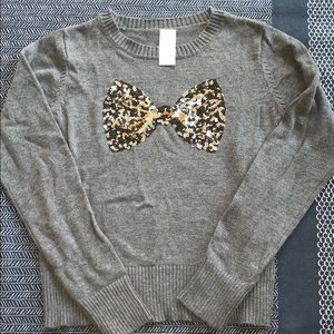 Nwot size 7 cat and jack sweater with sequins
